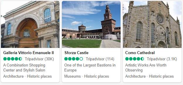 Milan Attractions