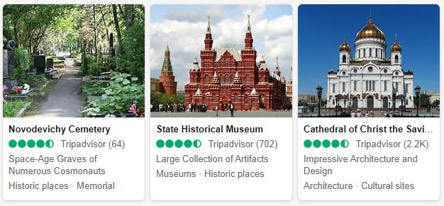 Moscow Attractions 2
