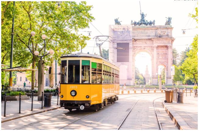 Milan's public transport