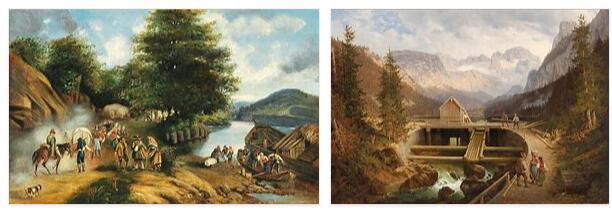 Austria Arts in 19th Century
