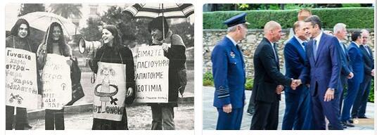 Greece History - The Restoration of Democracy 2